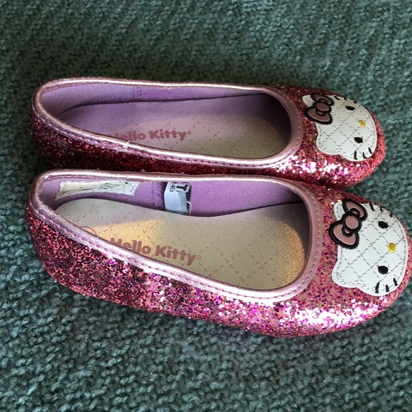 14b85ea75 Hello Kitty Other - Hello kitty sparkly pink shoes